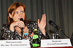Выступает вице-президента Союза Елена Логинова