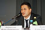 Вел конференцию Сопредседатель Союза Феликс Любашевский