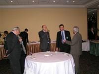 Общение участников после окончания конференции