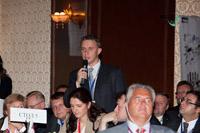 Дискуссия участников на конференции НЕФТЕГАЗОПЕРЕРАБОТКА-2012
