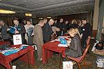 Во время регистрации участникам раздавалось много материалов